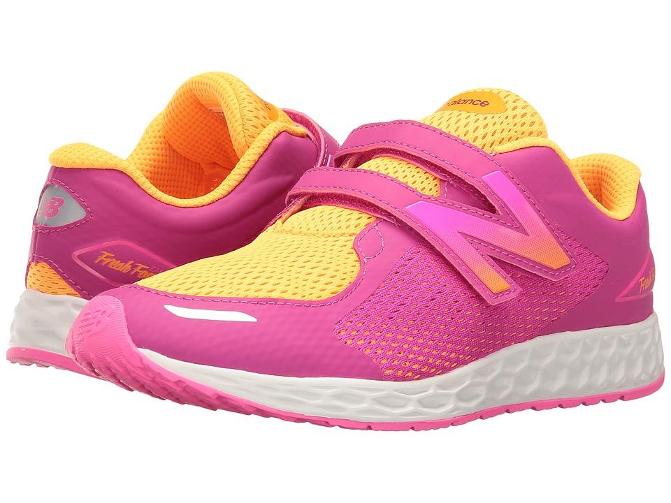 New Balance Kids KVZNT (Little Kid/Big Kid) (Pink) Girls Shoes