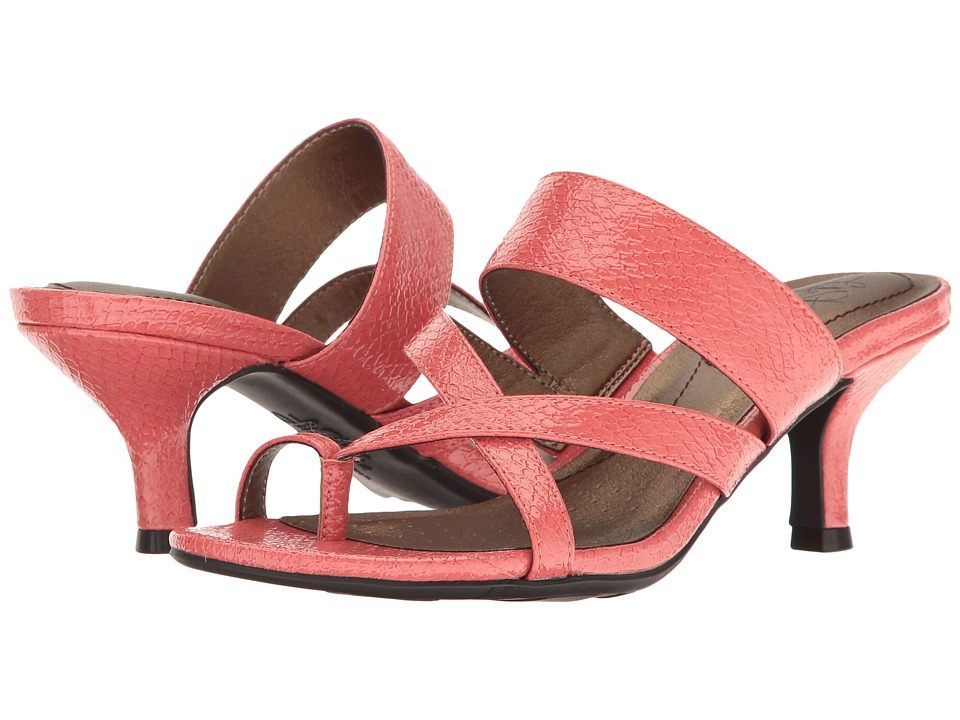 LifeStride - Frolic (Warm Coral) Women's Dress Sandals