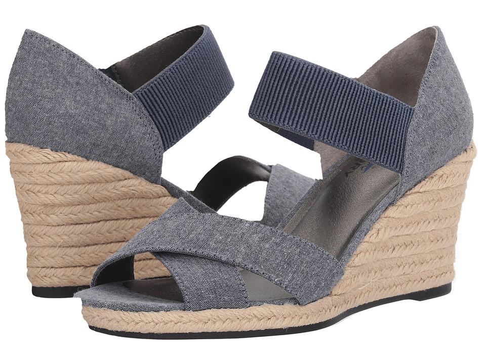 LifeStride - Strut (Denim) Women's Sandals