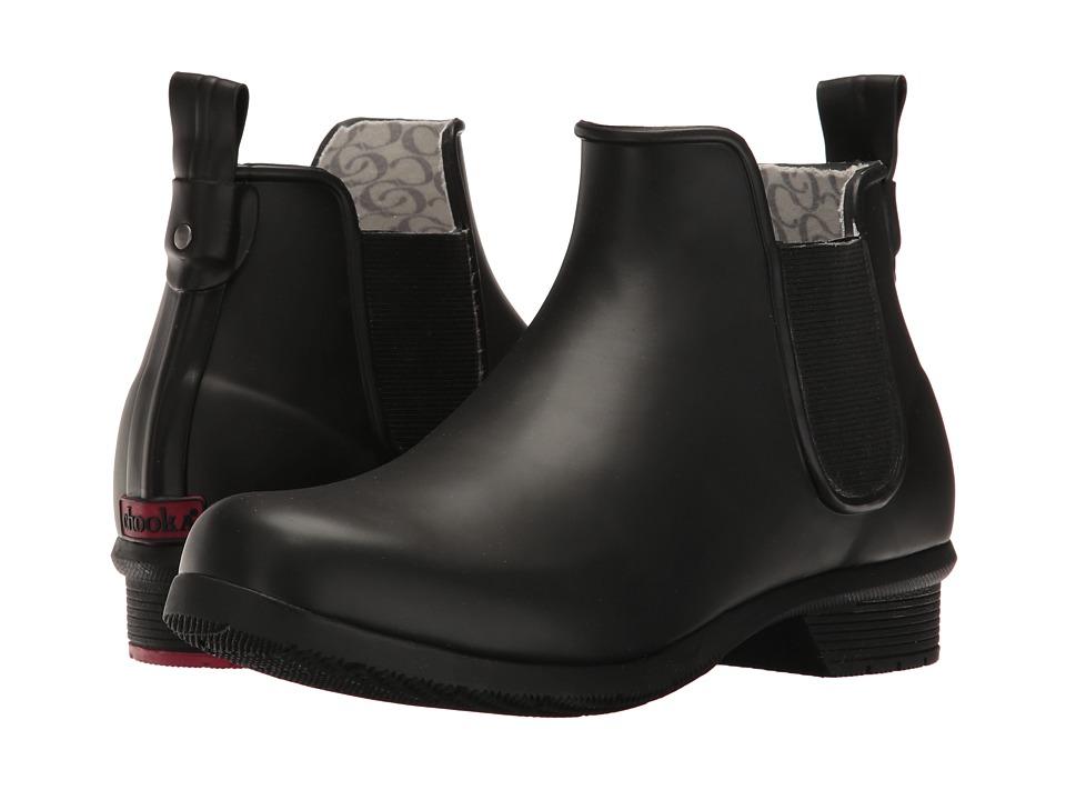 Chooka - Classic Chelsea Rain Boot (Black Matte) Women's Rain Boots