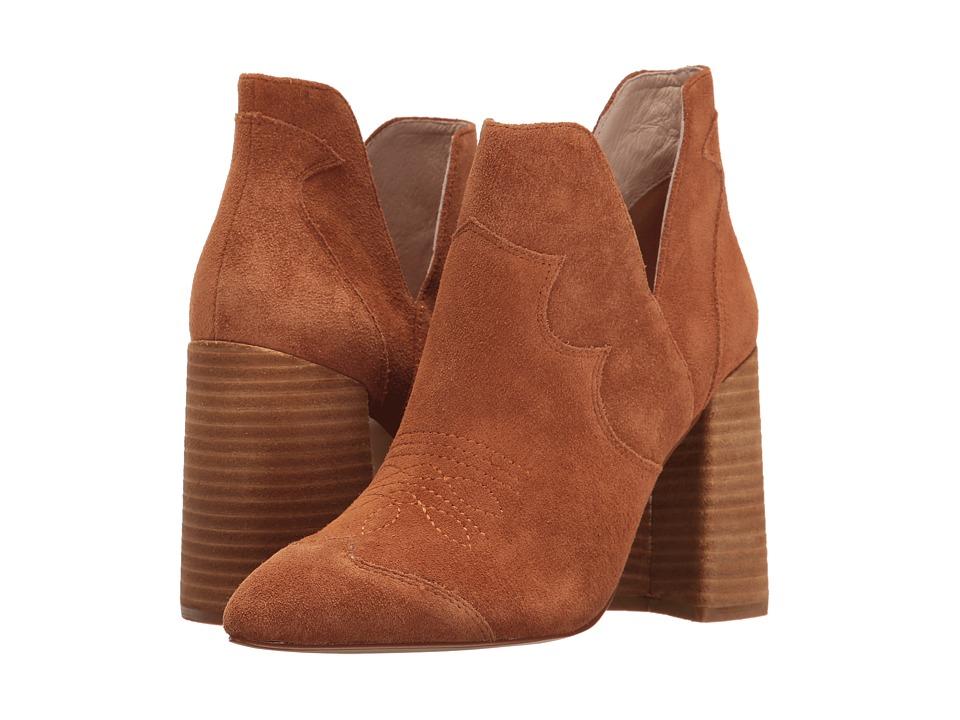 Shellys London Duarte Bootie (Tan Suede) High Heels