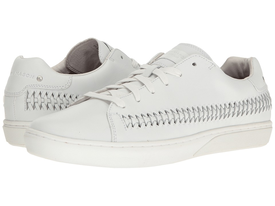 Mark Nason - Chambord (White Leather) Men's Shoes
