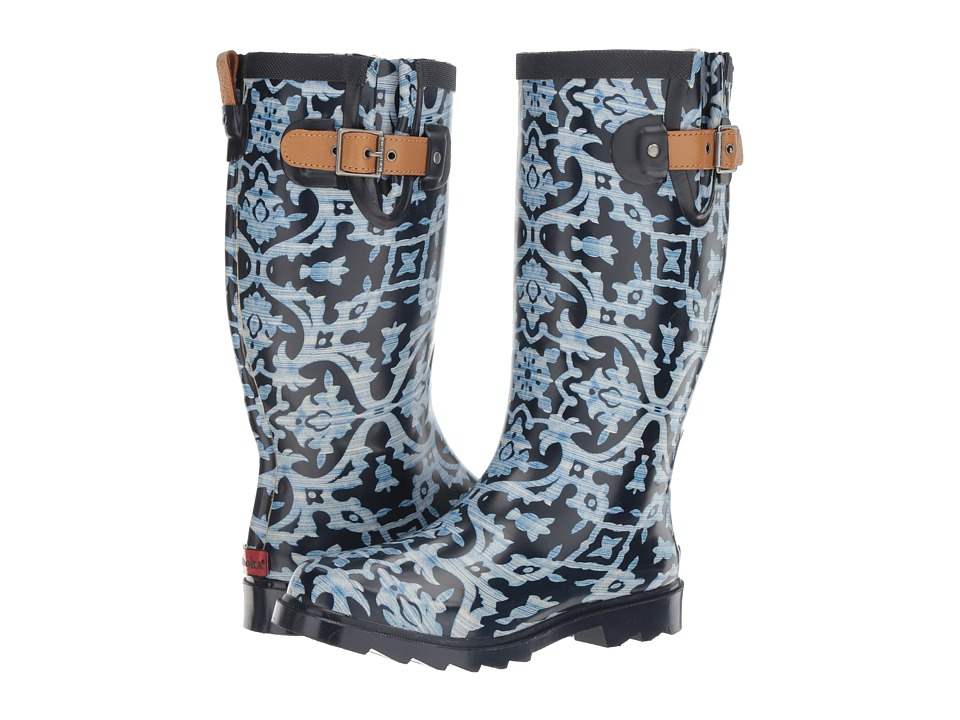 Chooka - Monaco (Blue Shiny) Women's Rain Boots