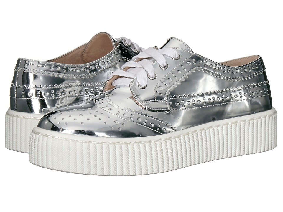 Shellys London Dilys Platform Sneaker (Silver PU) Women