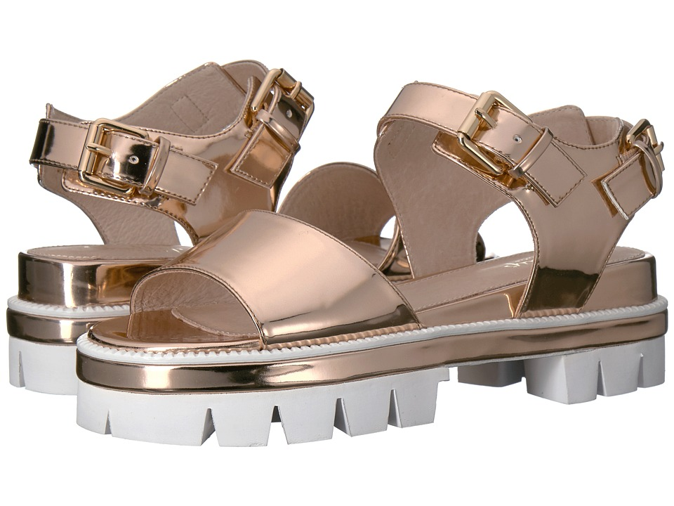 Shellys London - Dita Sandal (Rose Gold Leather) Women's Sandals
