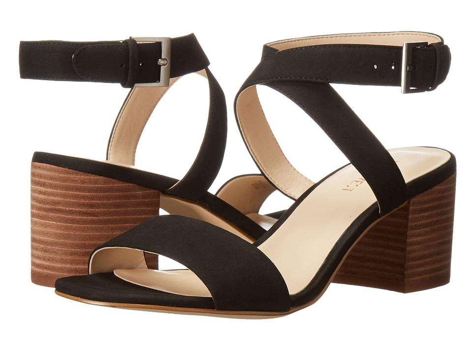 Nine West - Gondola (Black Leather) Women's Shoes