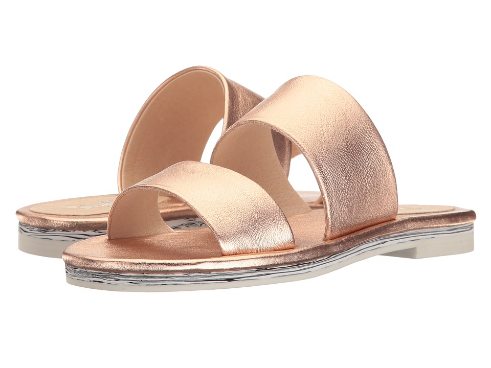 Shellys London Davan Slide (Rose Gold Mirror) Women