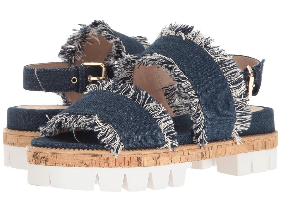 Shellys London - Dembe (Denim Fabric) Women's Sandals