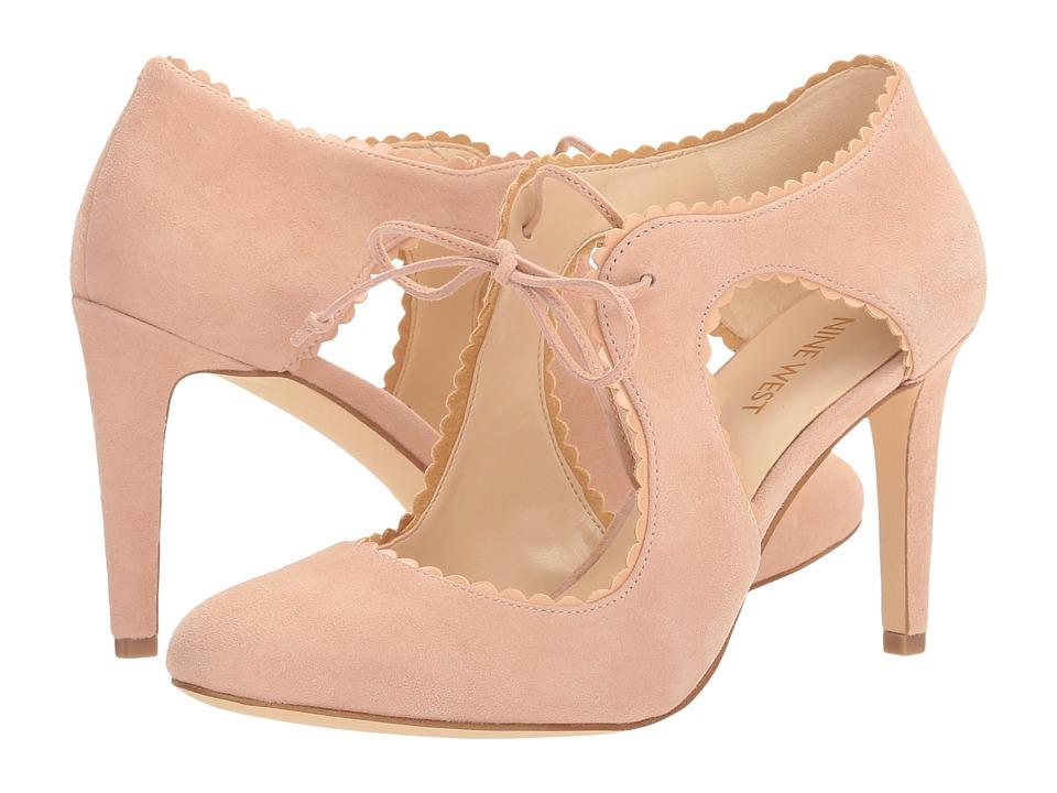 Nine West - Hypatia (Light Pink Suede) Women's Shoes