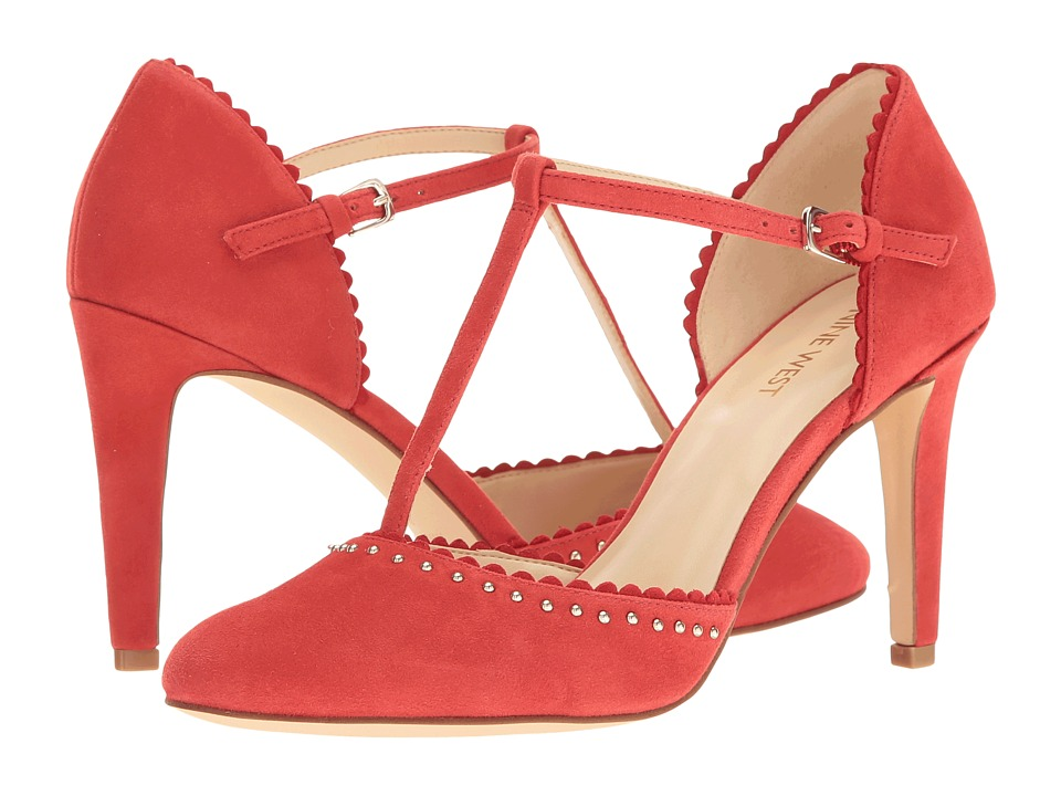 Nine West - Howella (Red Suede) High Heels