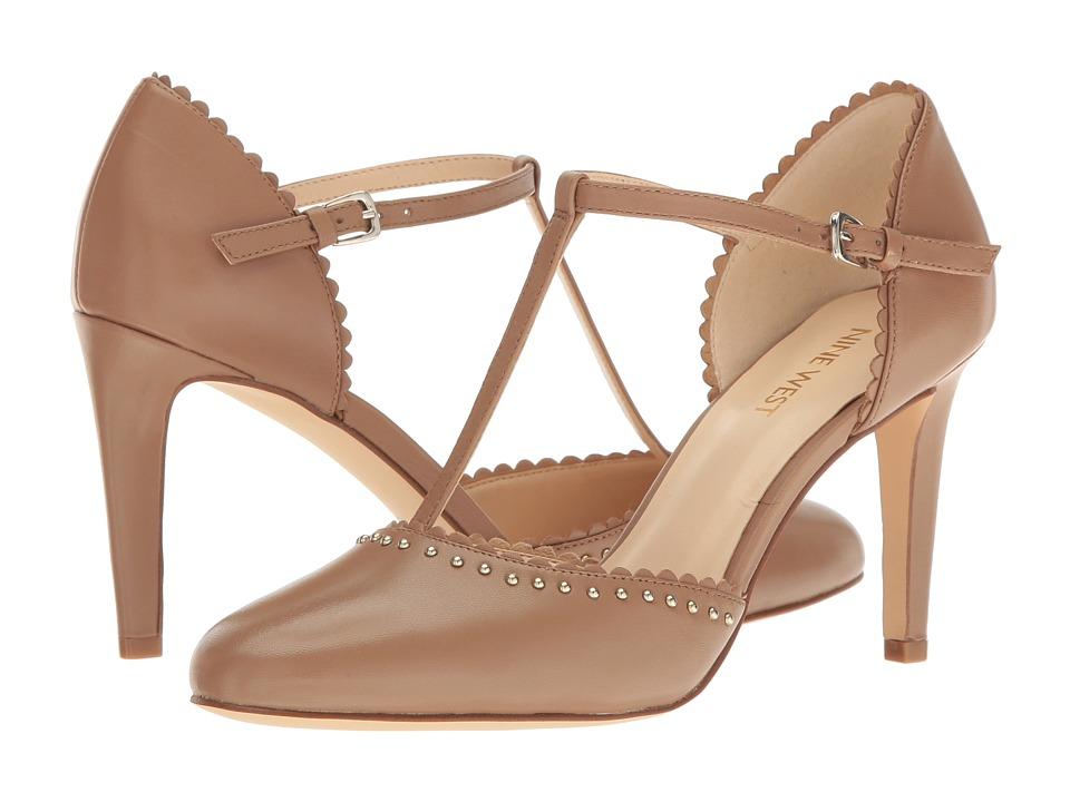 Nine West - Howella (Natural Leather) High Heels