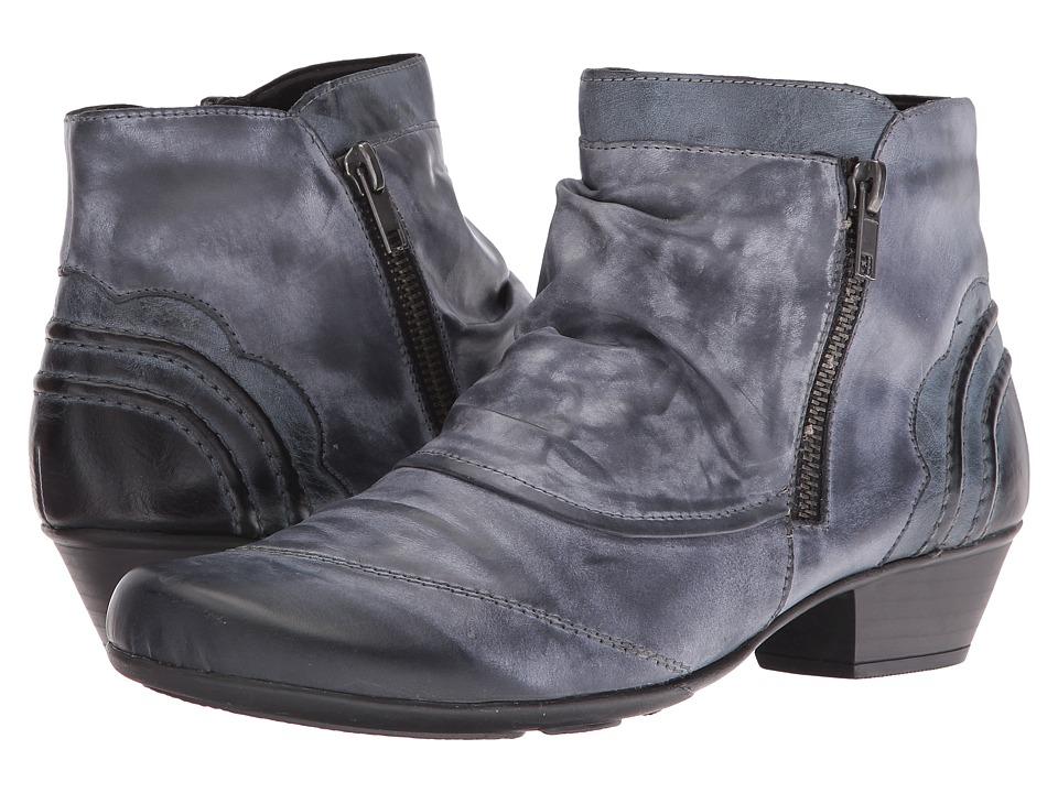 Rieker - D7395 Milla 95 (Ozean Ravenna/Ozean Serbia) Women's Boots