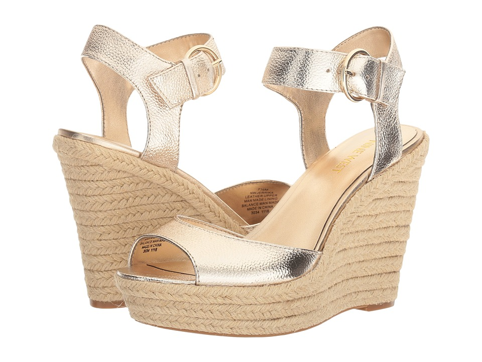 Nine West - Jerrika (Gold Metallic) Women's Shoes