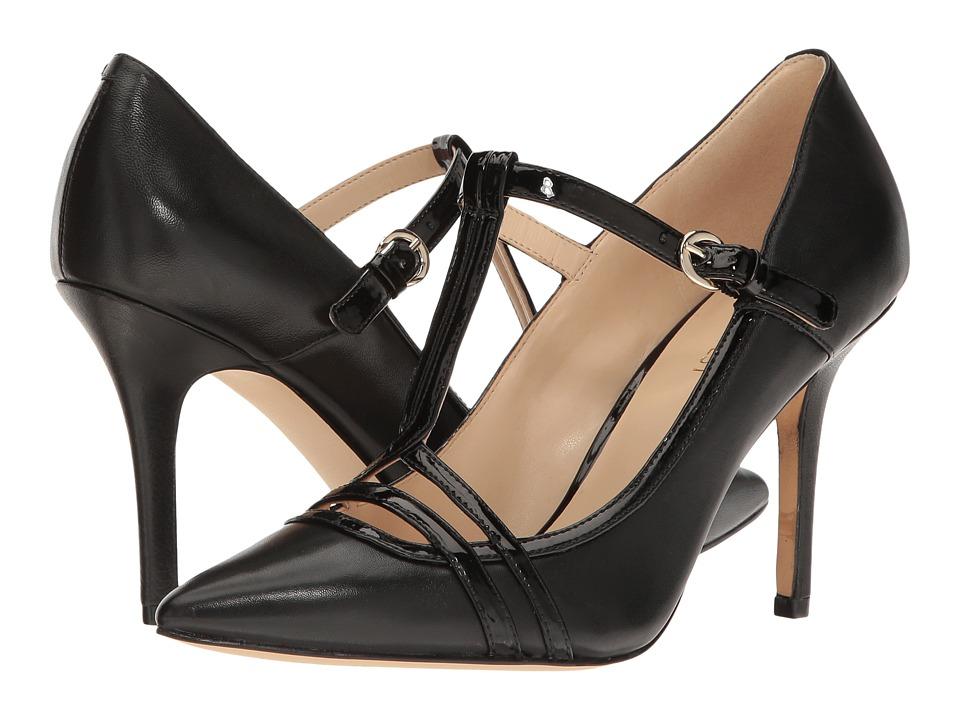 Nine West - Jantine (Black Leather) High Heels