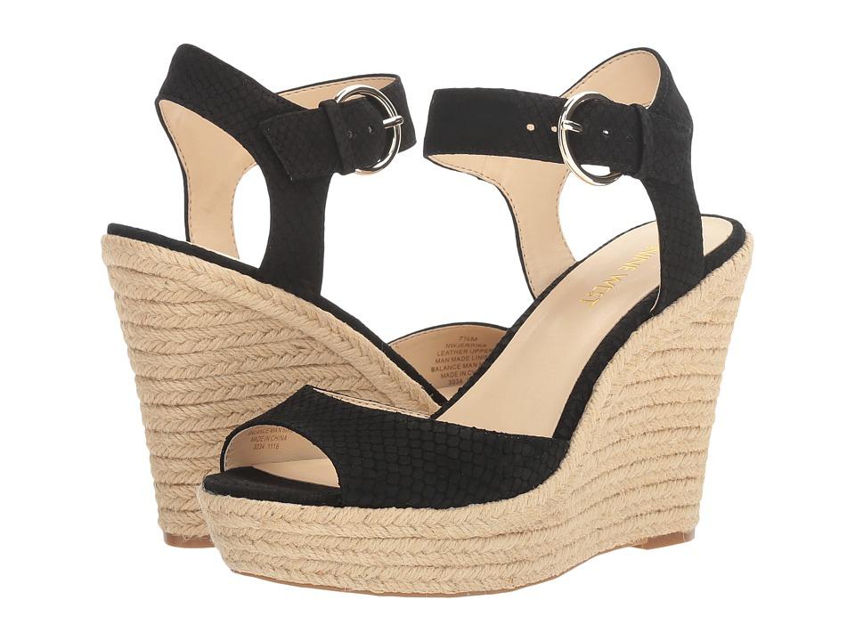 Nine West - Jerrika (Black Nubuck) Women's Shoes