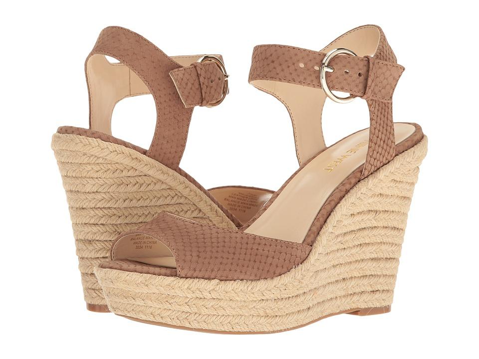Nine West - Jerrika (Natural Nubuck) Women's Shoes