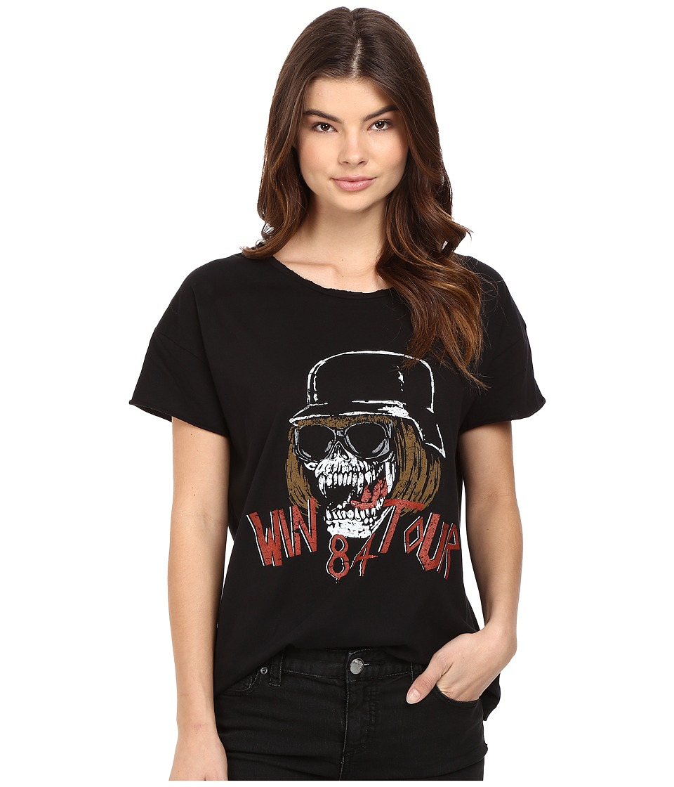 StyleStalker - Win 84 Tour Vintage Tee (Vintage Black) Women's T Shirt