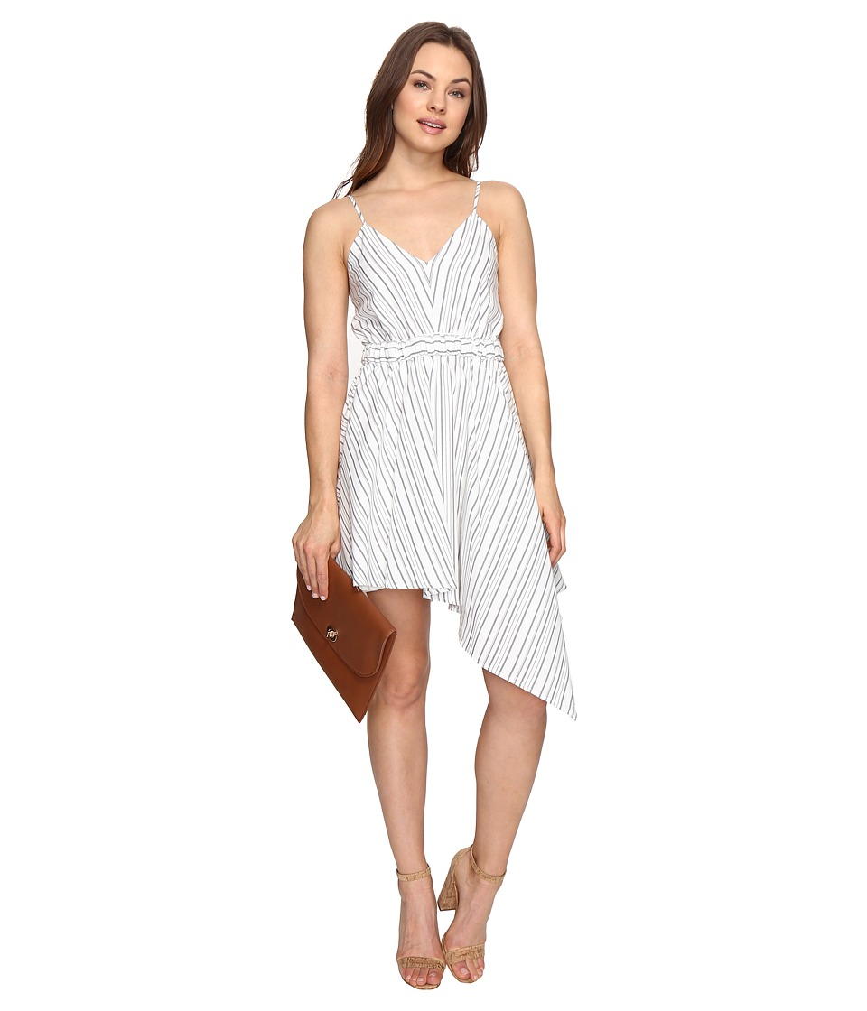 StyleStalker - Keira Mini Dress (Grey Linear) Women's Dress
