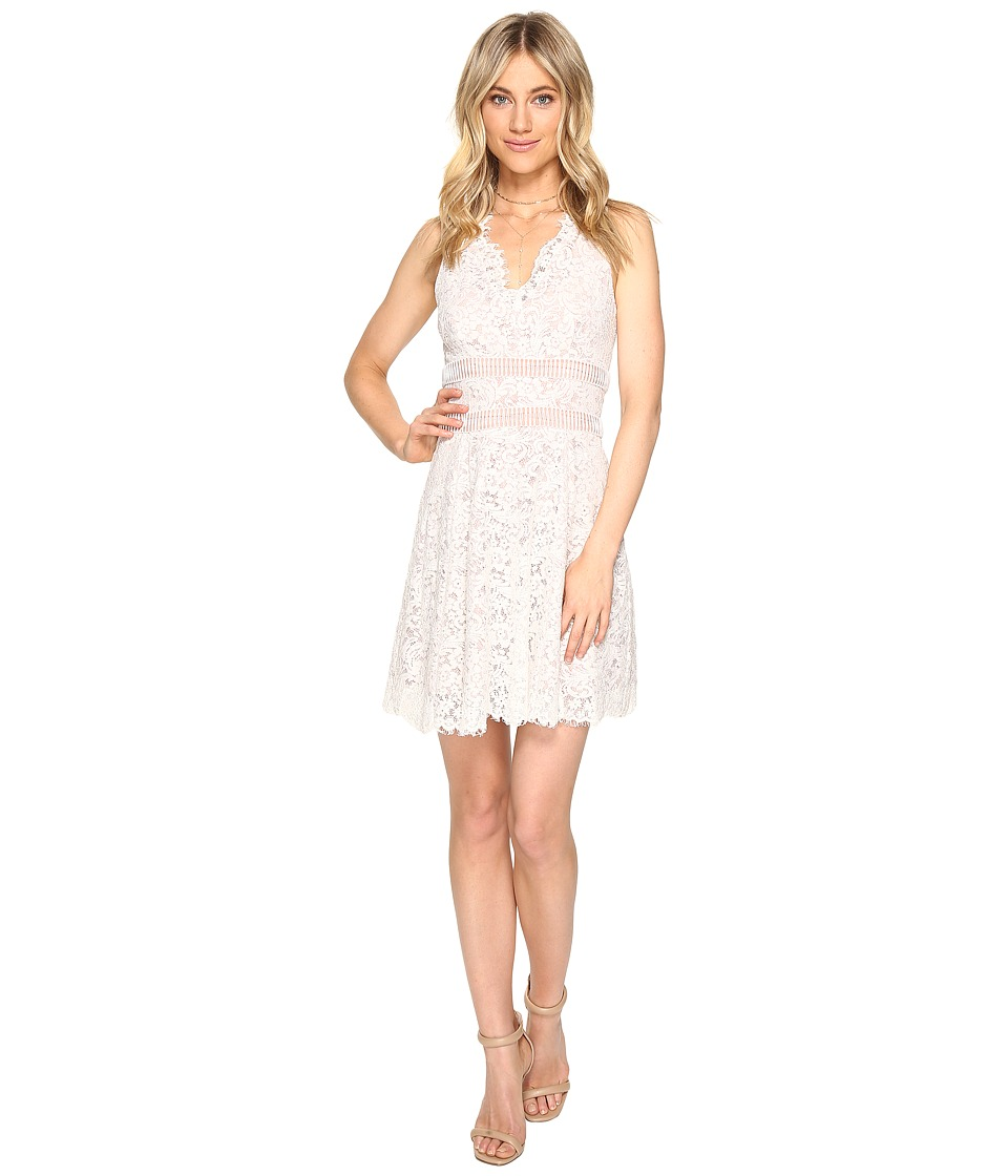 StyleStalker - Dixie A-Line Dress (White) Women's Dress