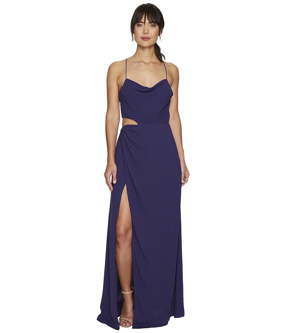 StyleStalker Nicolet Maxi Indigo Violet Dress
