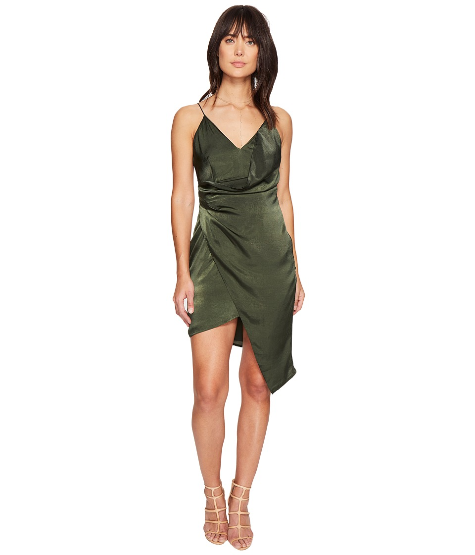 StyleStalker - Trinity Dress (Forest Green) Women's Dress