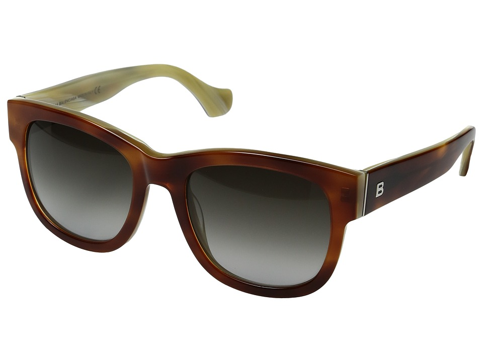 Balenciaga - BA0069 (Havana/Gradient Smoke) Fashion Sunglasses