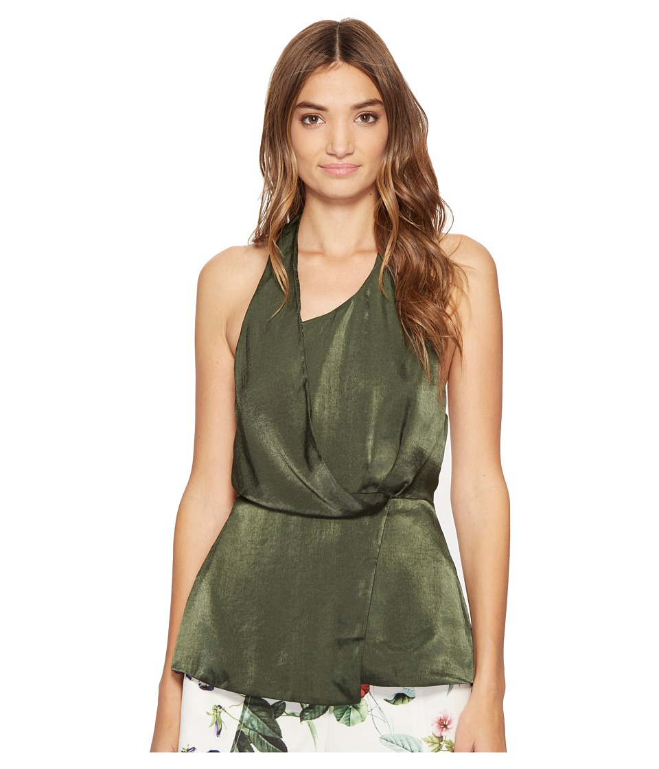 StyleStalker - Trinity Top (Forest Green) Women's Clothing