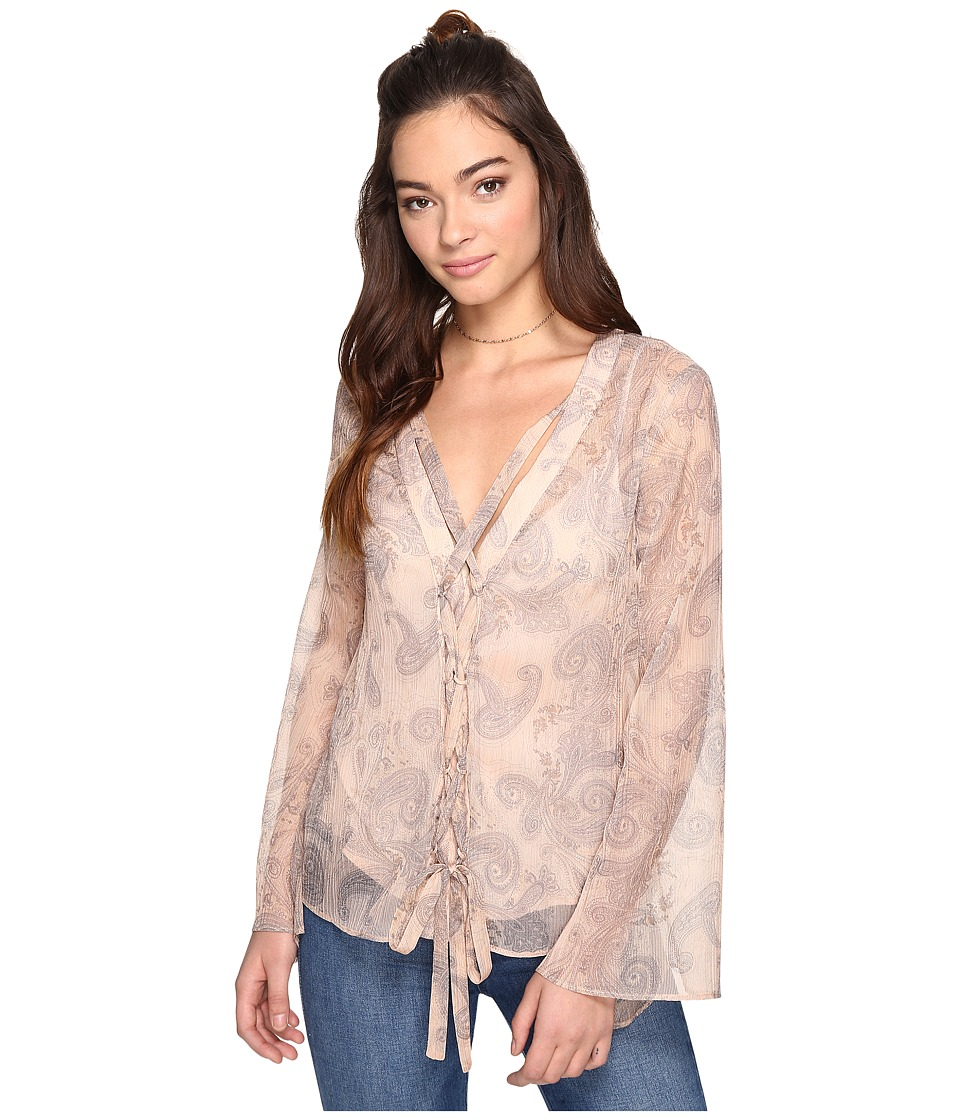 The Jetset Diaries - Sublime Illusion Top (Isabella Floral) Women's Clothing