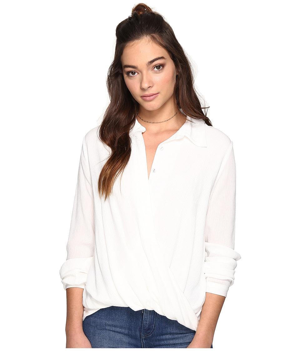 The Jetset Diaries - Korana Surplice Shirt (Ivory) Women's Clothing
