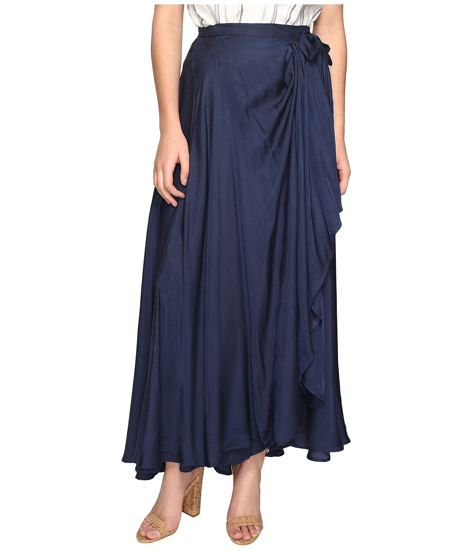 The Jetset Diaries Iris Maxi Skirt (Navy) Women