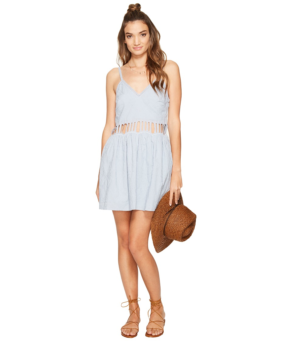 The Jetset Diaries - Jasmina Mini Dress (Powder Blue) Women's Dress