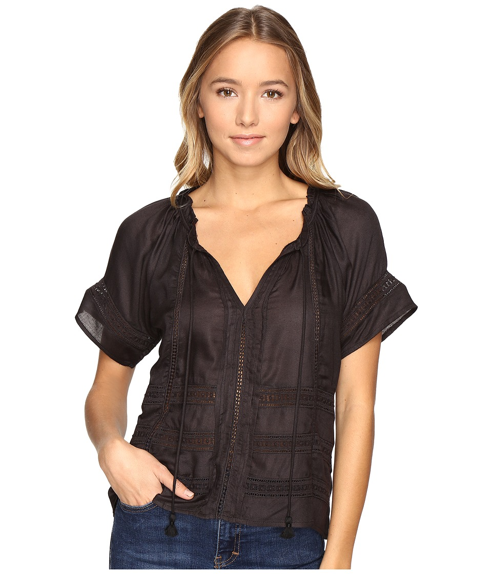 Amuse Society - Carla Woven (Black) Women's Clothing