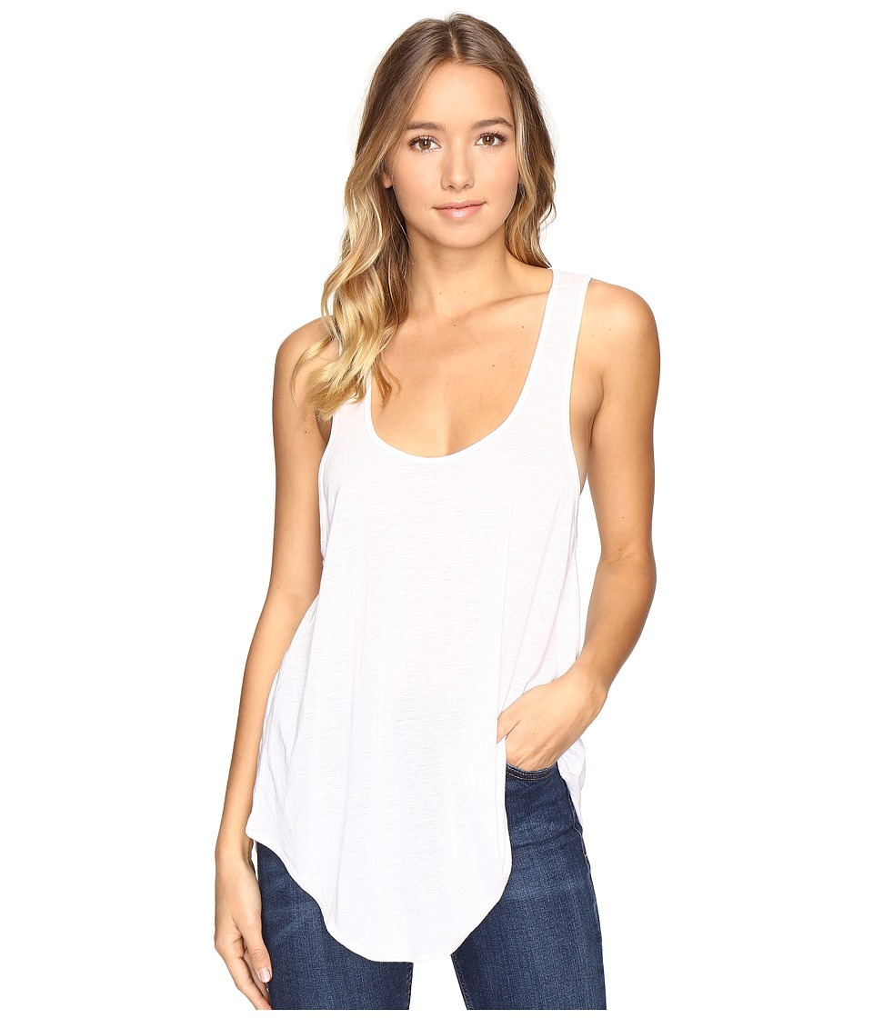 Amuse Society - Lou Knit Tank Top (White) Women's Sleeveless