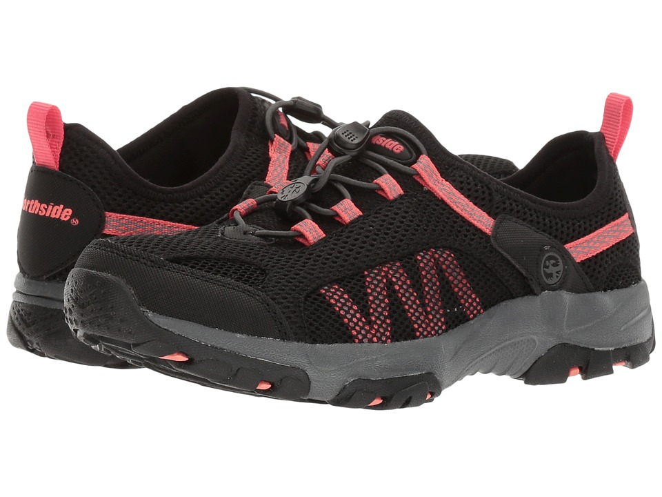 Northside - Niagara (Black/Hot Coral) Women's Shoes