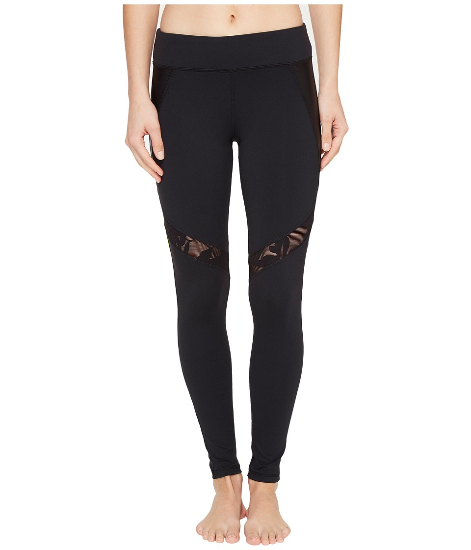 Trina Turk - Lace and Shine Leggings (Black) Women's Casual Pants
