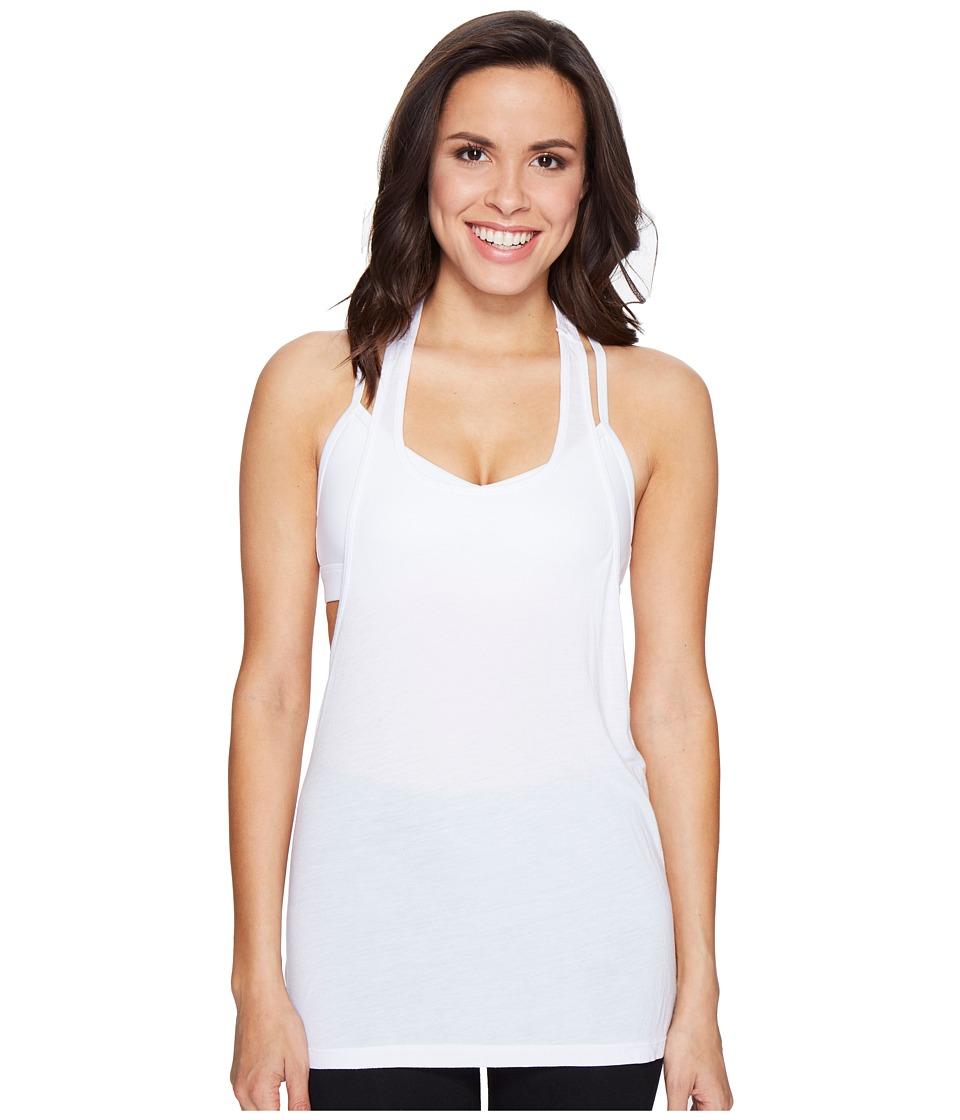 Trina Turk - Washy Jersey Tank Top (White) Women's Sleeveless