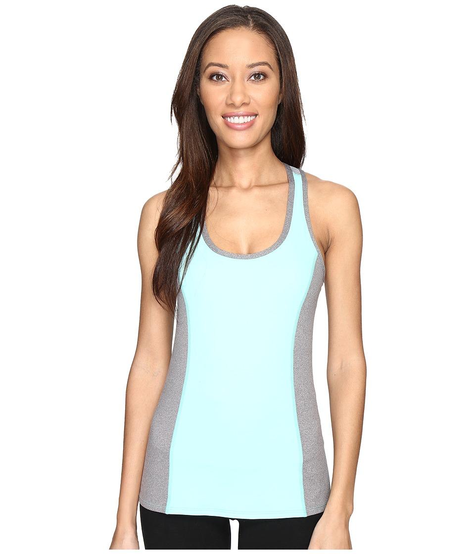 Trina Turk - Color Block Tank Top (Aqua) Women's Sleeveless