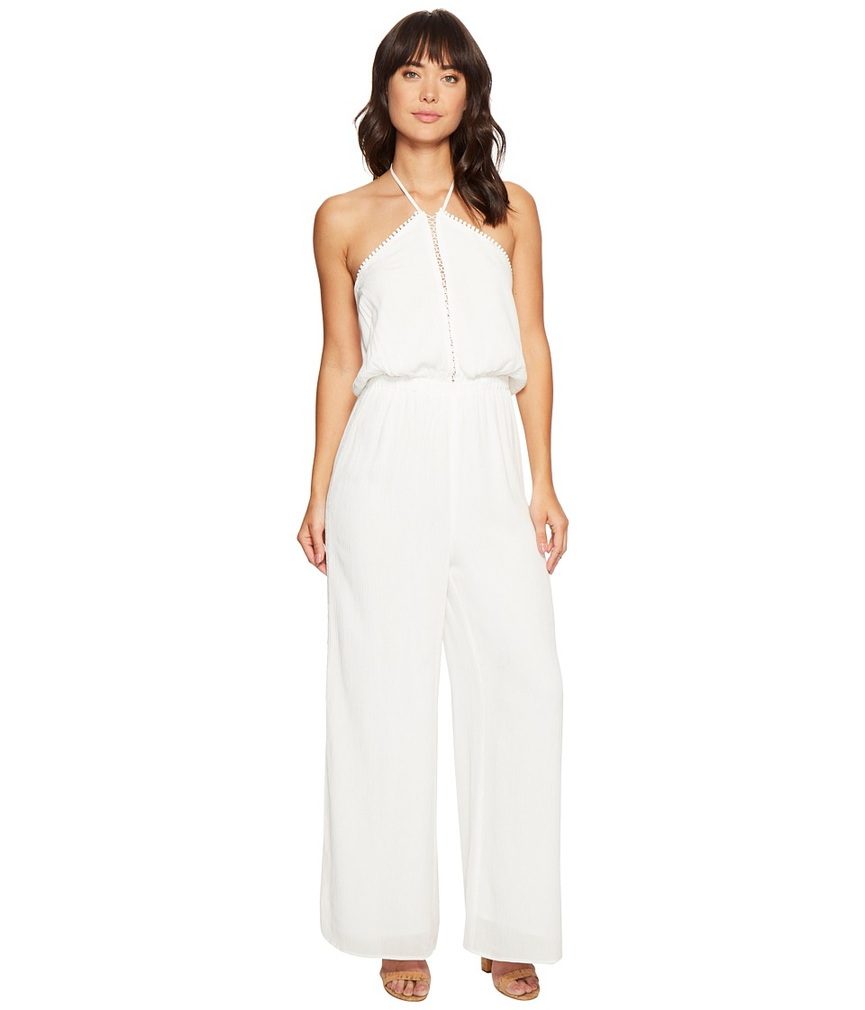The Jetset Diaries - Golden Island Jumpsuit (Ivory) Women's Jumpsuit & Rompers One Piece