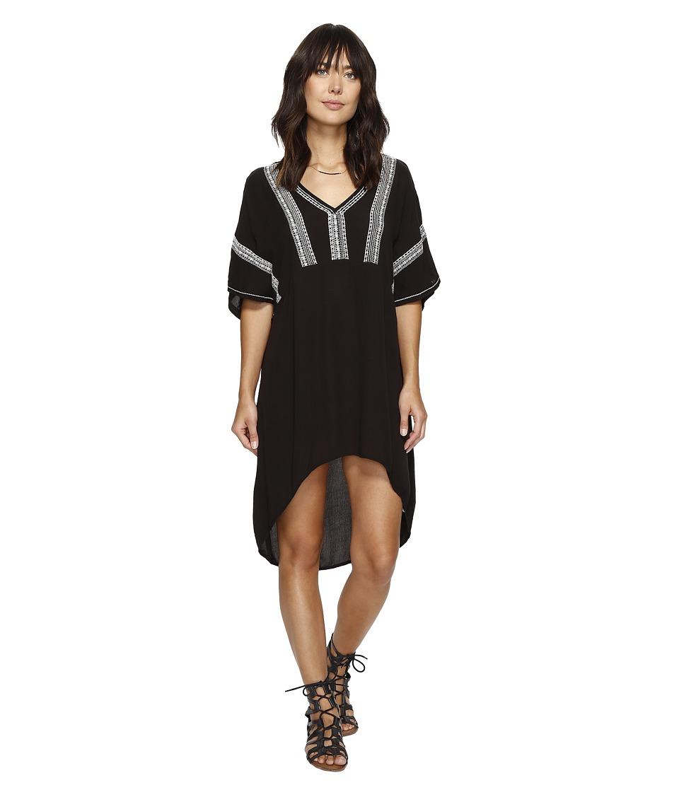 Amuse Society Callow Dress (Black) Women