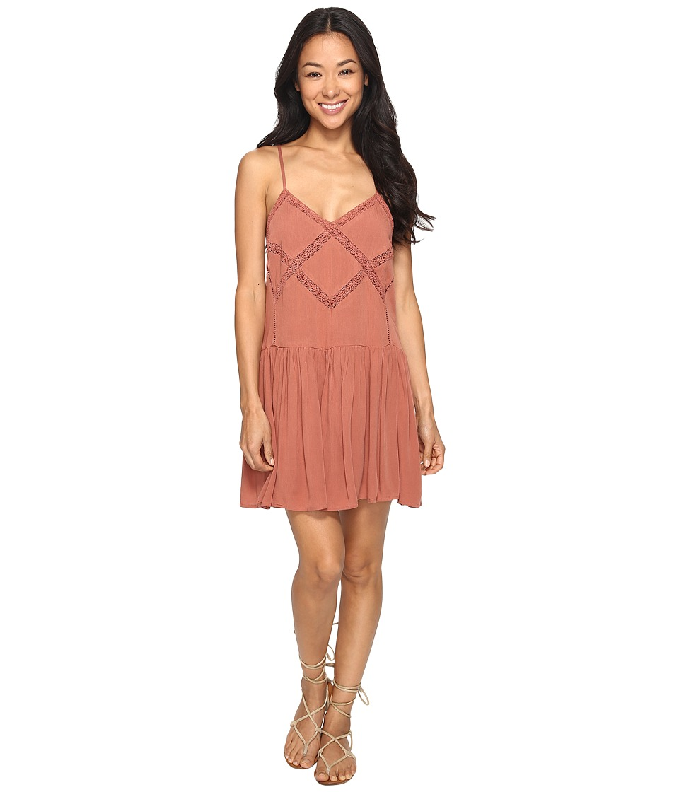 Amuse Society - Odessa Dress (Tobacco) Women's Dress