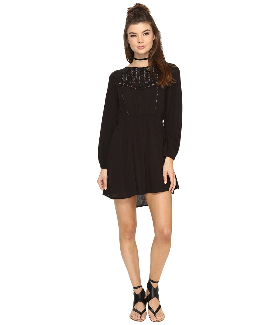 Amuse Society - Portia Dress (Black) Women's Dress