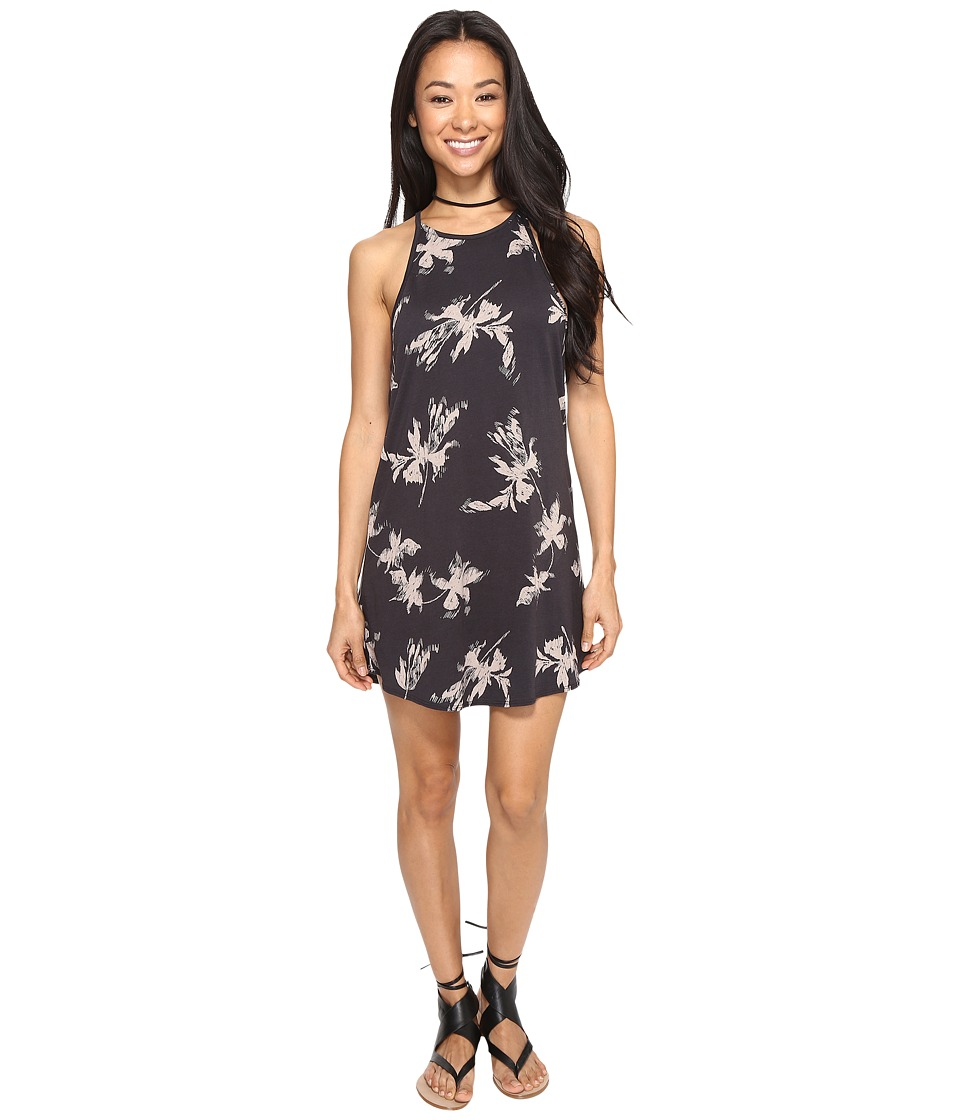 Amuse Society - Love Always Dress (Charcoal) Women's Dress