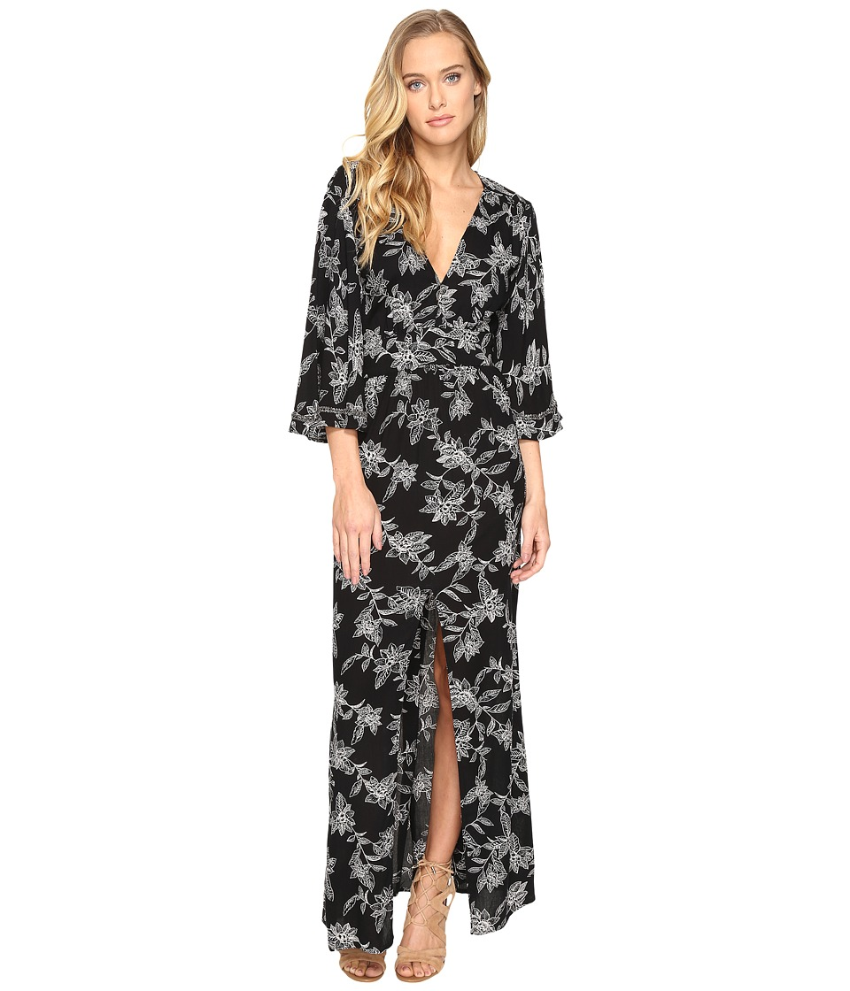 Amuse Society - Vortex Dress (Black) Women's Dress