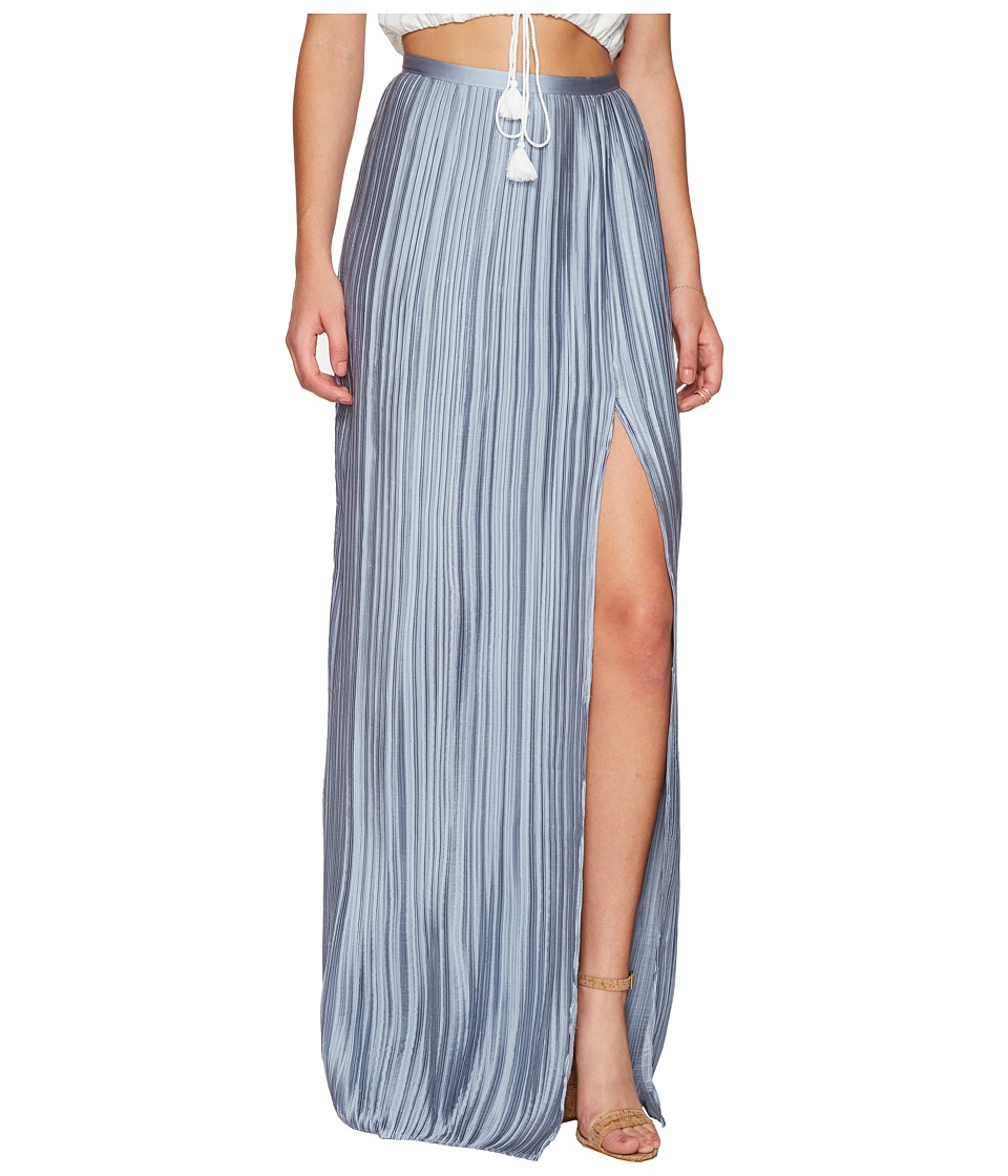 The Jetset Diaries - Primavera Maxi Skirt (Powder Blue) Women's Skirt