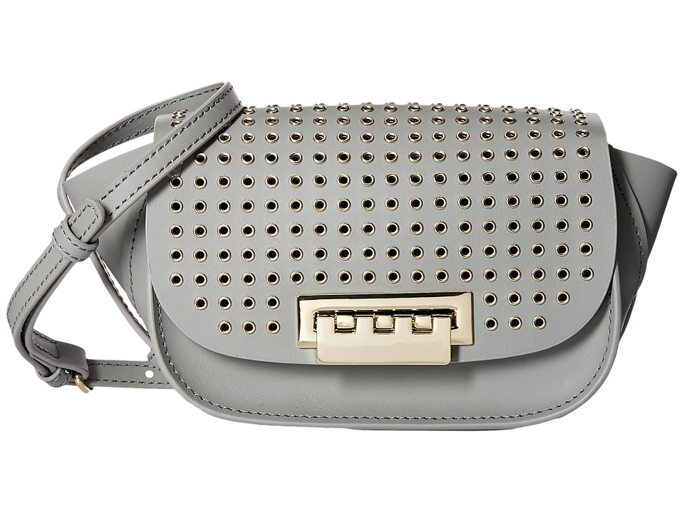 ZAC Zac Posen - Eartha Iconic Micro Accordion Crossbody (Elephant) Cross Body Handbags