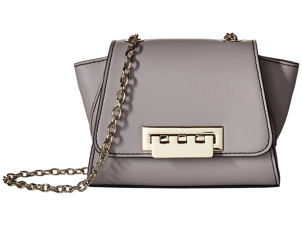 ZAC Zac Posen - Eartha Iconic Mini Chain Crossbody (Medium Grey) Cross Body Handbags