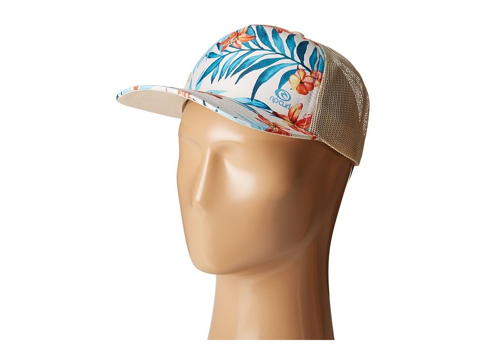 Rip Curl - Tropical Trucker Hat (Natural) Caps
