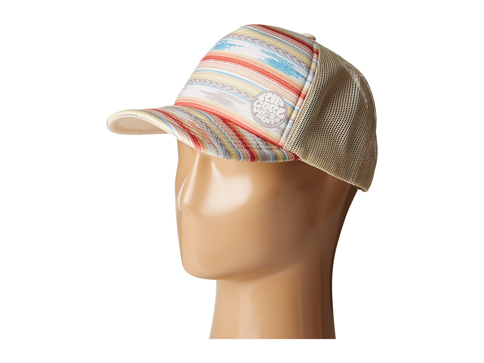Rip Curl - White Sands Trucker Hat (Natural) Caps