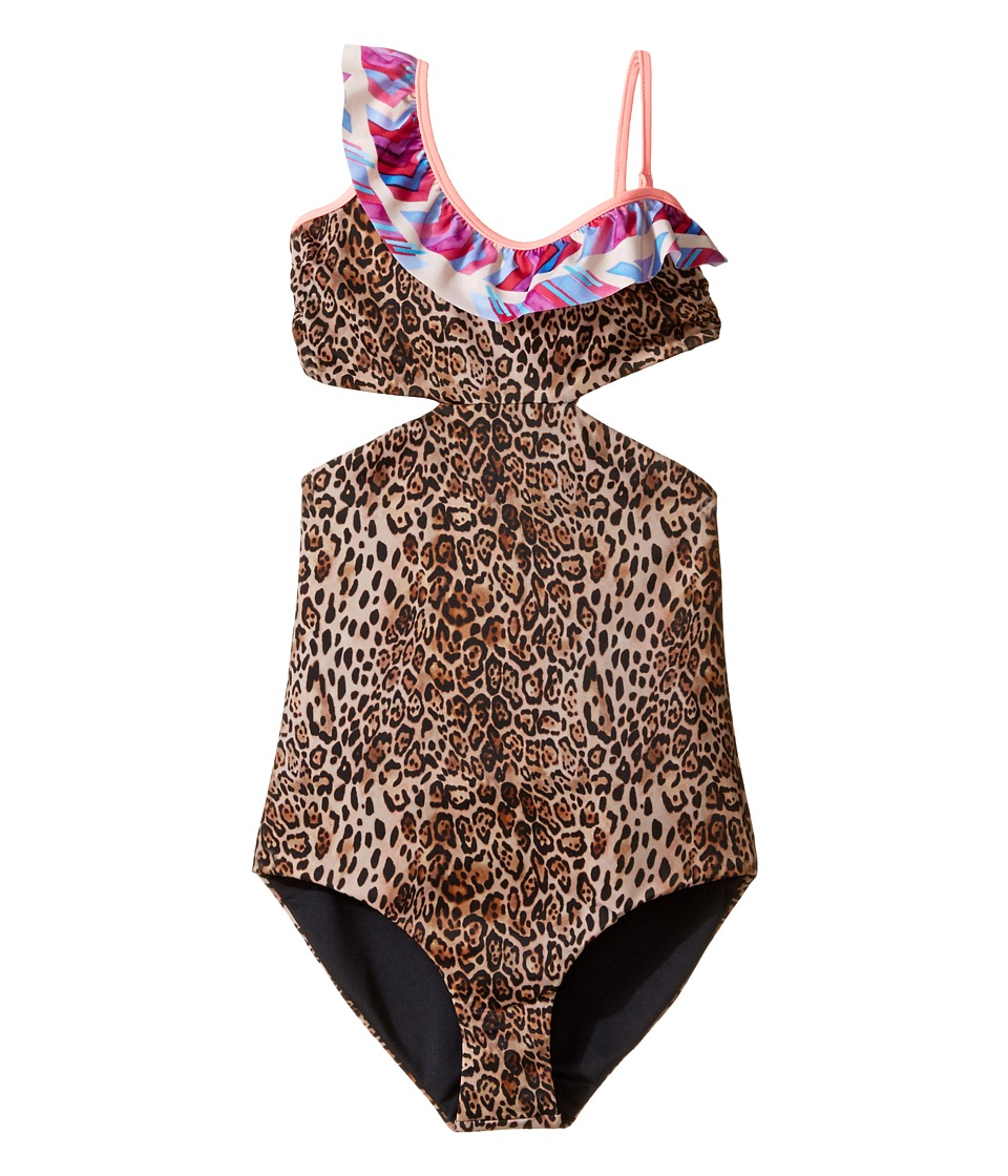 Bowie X James Cococolada One-Piece (Toddler/Little Kids/Big Kids) (Leopard) Girl