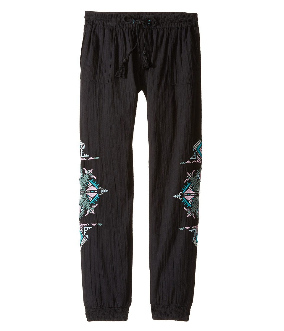 Bowie X James - Running Deer Pants (Toddler/Little Kids/Big Kids) (Black) Girl's Casual Pants